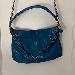 Matt & Nat Blue Leather Bag
